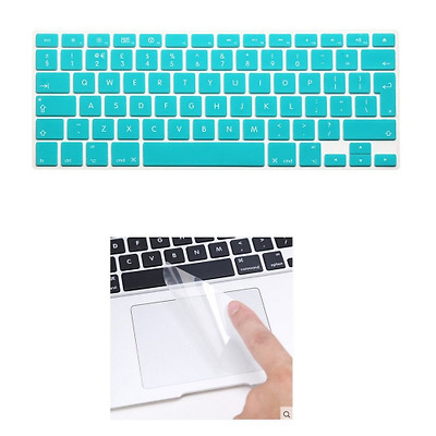 i-Buy Silicone Keyboard Cover Film for Macbook Air 13 Pro 13 Pro 15 + Touchpad P