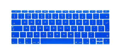 "i-Buy Silicone Keyboard Cover Film Sticker for Macbook 12"" and Pro 13"" without T"