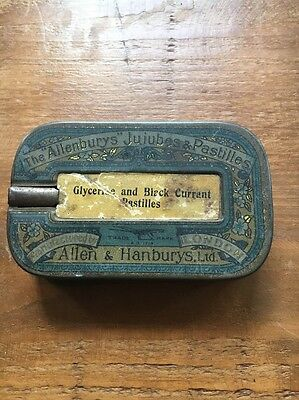 Antique Medicine Tin Box