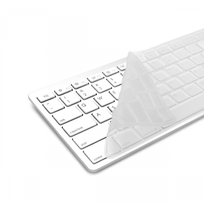 kwmobile protection de clavier QWERTY (US) robuste, fine en silicone pour Apple