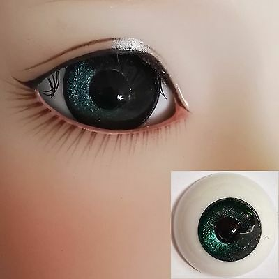 British Racing Green - BJD Eyes - 8mm 10 12 14 16 18 20 22 SD13/10 Doll Dollfie