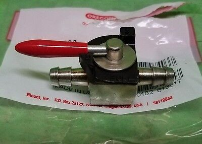 "New STRAIGHT Fuel / Gas Shutoff / Cutoff VALVE / SWITCH TAP  1/4"" Steel Fittings"