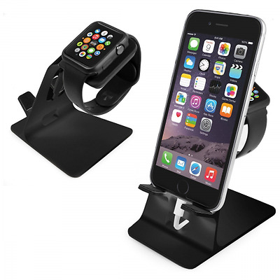 Orzly® Duostand pour Apple Watch - Stand Apple Watch - Station de Charge -