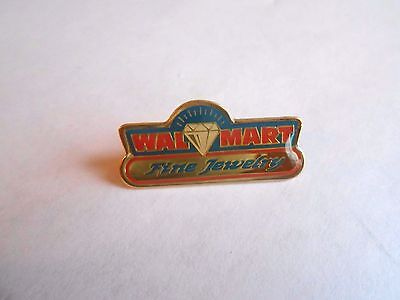 Cool Vintage Wa-Mart Walmart Fine Jewelry Fine Jewelry Advertising Pin Pinback