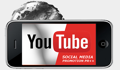 123 YouTube Optimierung VideoLikes Channel Promotion Video Marketing Daumen hoch