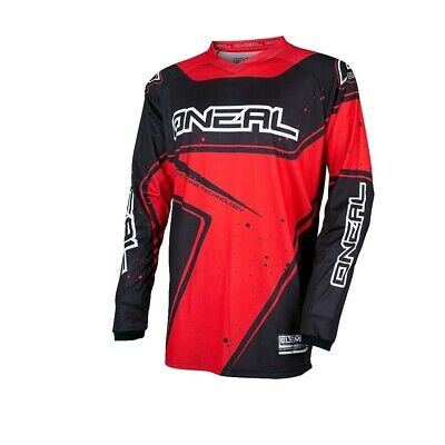 Oneal 2017 Element Racewear Jersey Dirt Bike Clothing Top Black/red