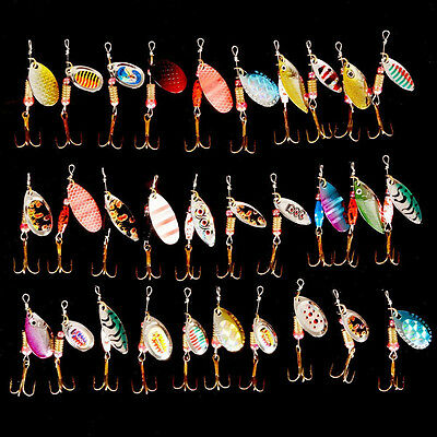 2017 NEW 30pcs HARDBAIT Lure Esca Artificiale Pesca Spinning Pike Bass Trota