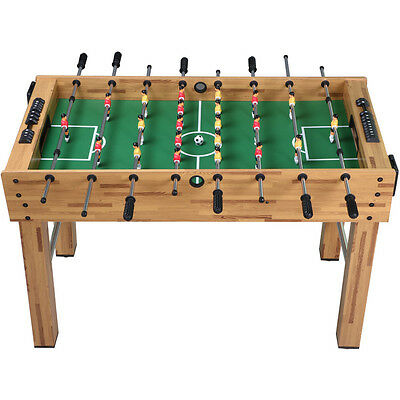 4FT Soccer/Football Table Kids Gift Toy Childrens Gaming Play Indoor Outdoor