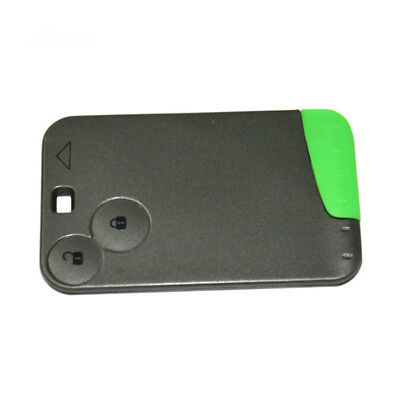 Remote Key Smart Card Fob 2 Buttons 433MHz for Renault Laguna Espace 2001-2006