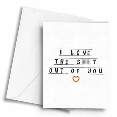 I love the sh!t out of you - A5 Greetings Card