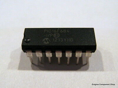 PIC 16F684 / 16F684-I/P 14 Pin Microcontroller, UK SELLER, Fast Dispatch!