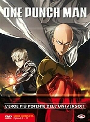One Punch Man - Serie Completa (3 DVD) - ITALIANO ORIGINALE SIGILLATO -