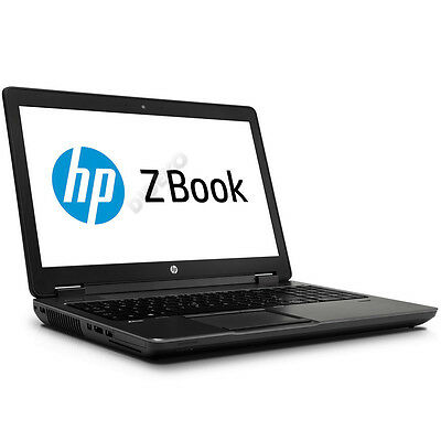 HP ZBook 15 QuadCore Intel Core i7-4800MQ 8x 2,7 GHz 16 GB RAM 128 GB SSD