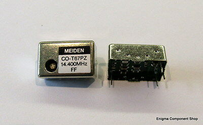 14.4MHz TCXO Crystal Oscillator, 2.5ppm, 14DIL package. UK Seller. Fast Dispatch