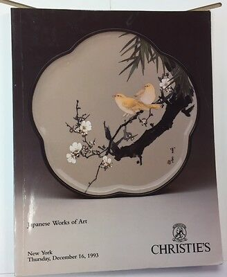 CHRISTIE'S Japanese Works of Art NY 12/16/1993 Catalogue