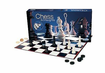 Gibsons Games Chess and Draughts Set
