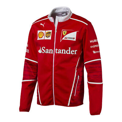 Scuderia Ferrari F1 Official Men's Team SoftShell Jacket - 2017