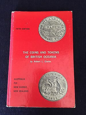 The Coins And Tokens Of British Oceania By Robert L. Clarke 5th Edition
