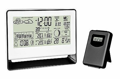 Chacon 54417 Weather Station with Barometer and Wireless Outdoor Sensor