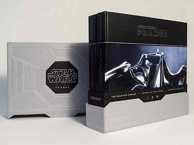 STAR WARS: FRAMES (Boxed Set, Hardcover) - George Lucas/Lucasfilm Ltd  NUOVO NEW