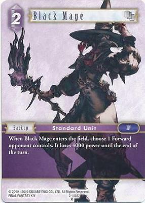3x Black Mage  - 2-108C COMMON - NM - Final Fantasy TCG - OPUS 2 ii 3x