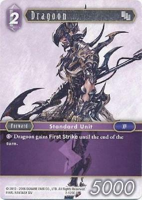 3x Dragoon  - 2-120C COMMON - NM - Final Fantasy TCG - OPUS 2 ii 3x