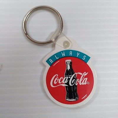 "Coca-Cola ""Always"" Bottle Logo Keychain - FREE SHIPPING"