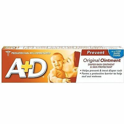 A+D Diaper Rash Ointment & Skin Protectant, Original 4 oz - A & D