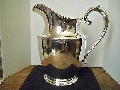 "Sterling Silver {92.5%} ""wallace 201-4 1/2 Pts. Water Pitcher"""