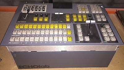Echolab MVS-5 Production Switcher Control Panel Board Console Video FREE US SHIP