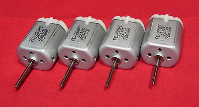 4 pcs 20mm Round Shaft Car Door Lock Actuator Motor Lexus Toyota Replace Mabuchi