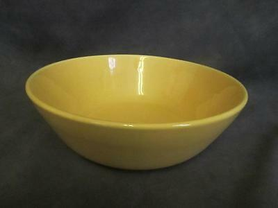 "F6 Bauer Monterey Modern Yellow 8-1/2""  Serving Salad Bowl"