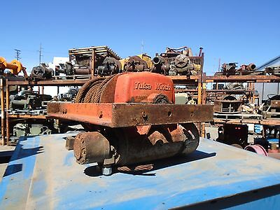 Tulsa Hydraulic Winch Model H18G -20,000LBS - Low Mount - Excellent Condition