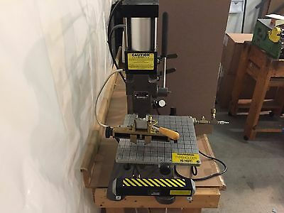 Kwikprint Model 86A/A Air Operated Hot Stamping Machine - Embosser