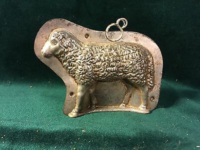 Early Sheep/Lamb Easter Chocolate Mold ~ Anton Reiche, Dresden Germany #6658