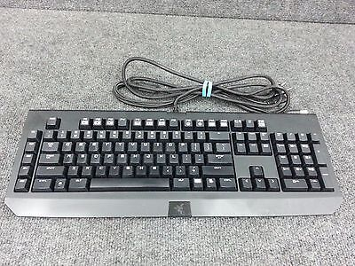 RAZER BLACKWIDOW 2013 Mechanical Gaming Keyboard RZ03-0039 No Light on Logo