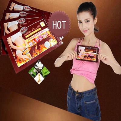 10 Trim Pads Weight Loss Body Slim Patch Slimming Fast Detox Fat Burner F Womens