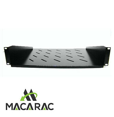 "2U-350mm Deep Cantilever Shelf / Tray for 19"" inch Rack System Server Cabinet"