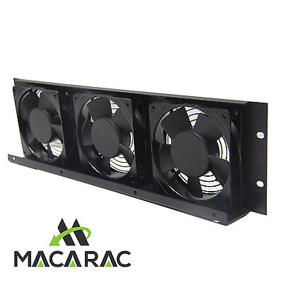 "3U 240vAC FAN COOLING UNIT (19"" Inch Rack-Mount Application)"