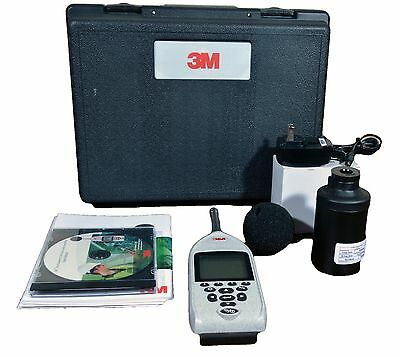 Quest 3M SE-402 Sound Examiner Meter w/ Calibrator, Manual, Case SE 400 Series