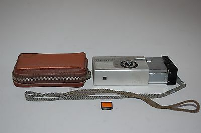 Kiev Vega-2 1962 Sub Miniature Camera. With Case. Good Condition. No.95432