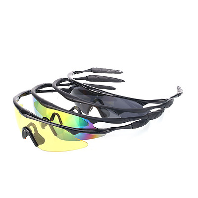 UV400 Tactical Outdoor Sports Police Shooting Eye Protect Glasses For Cycling