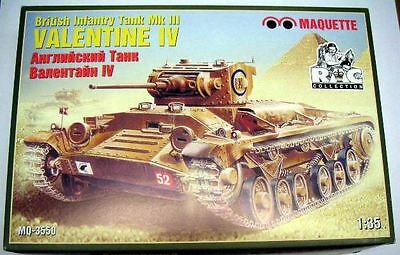 Special Item Valentine IV mk.iii, 1/35, Maquette, Plastic Model Kit, NEW