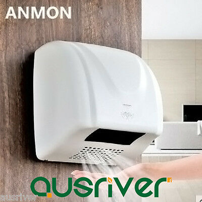 1600W Commercial Grade Wall Mounted Automatic Hand Dryer Hotel Home Washroom