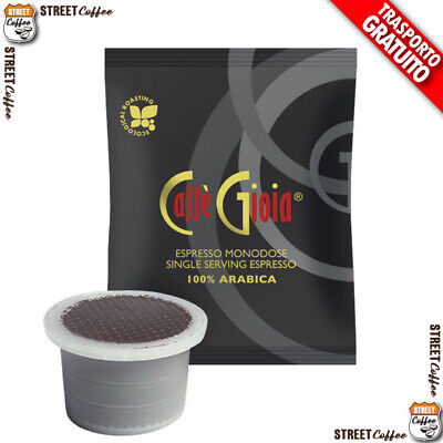 300 CAPSULE CAFFE GIOIA 100% ARABICA COMP UNO SYSTEM INDESIT KIMBO ILLY gratis
