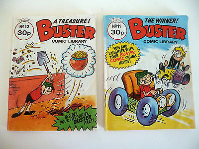 Buster Comic Library No.11 & 12 –  Issue 1985