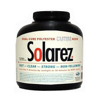 Solarez UV Cure Clear Casting Resin 4 Oz