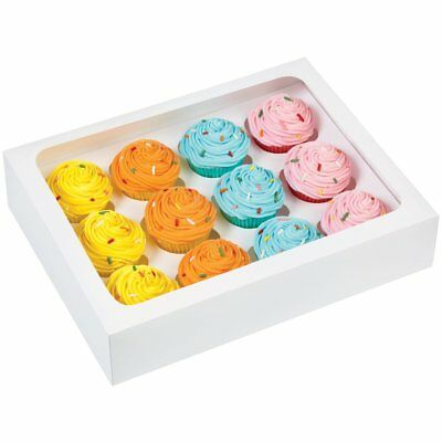 Wilton 12 CAVITY MINI Cakes Cupcakes Muffin Cookie Decorating Party Box 3 Pack