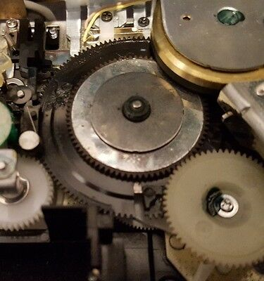 sony walkman dd series center gear repair