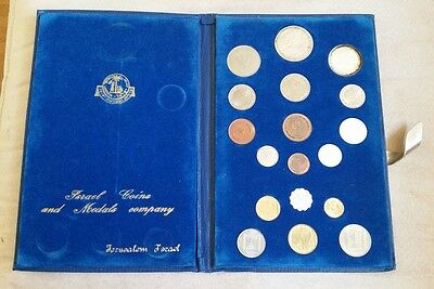Israel Coin Type Set 1949-1969 with Silver
